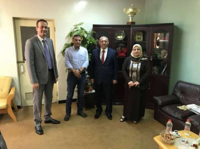 Azerbaijan's consul in Iraq visits child found in territories freed from ISIL