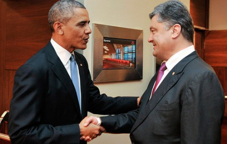 Obama və Poroşenko Varşavada görüşdü