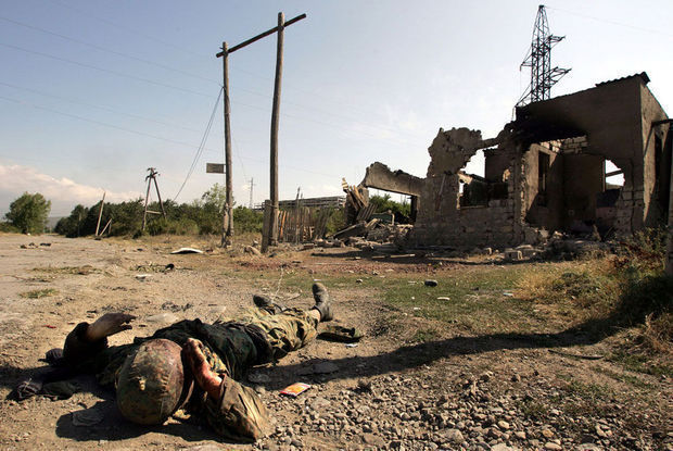 Qarabağda erməni əsgər hərbçi yoldaşını öldürüb