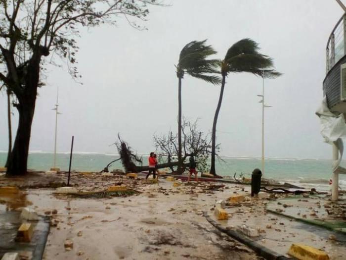 Ouragan Maria: un mort et deux disparus en Guadeloupe