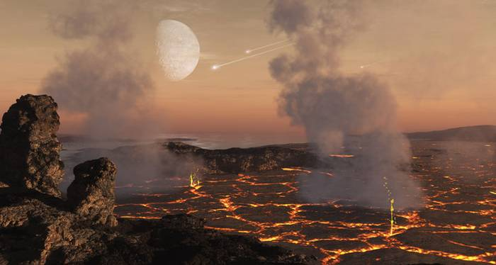 Life may have been possible in Earth's earliest, most hellish eon