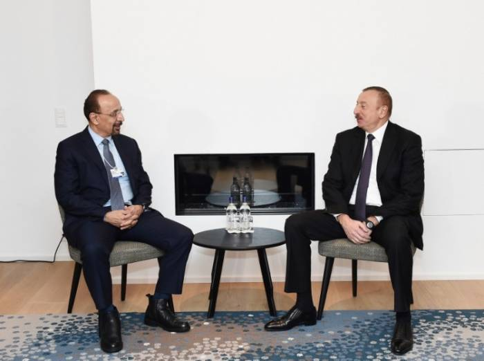 President Aliyev met with Saudi Arabian minister of energy, industry and mineral resources