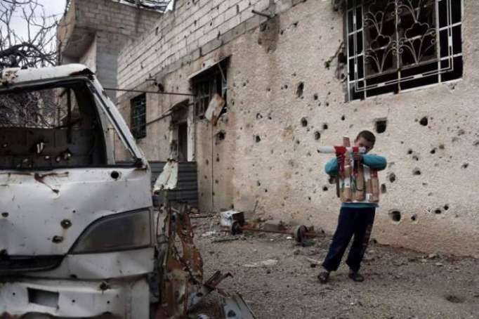 Bombardment continues in Syria