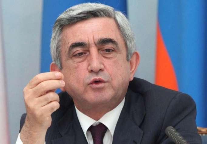 Armenian president touches on Iran