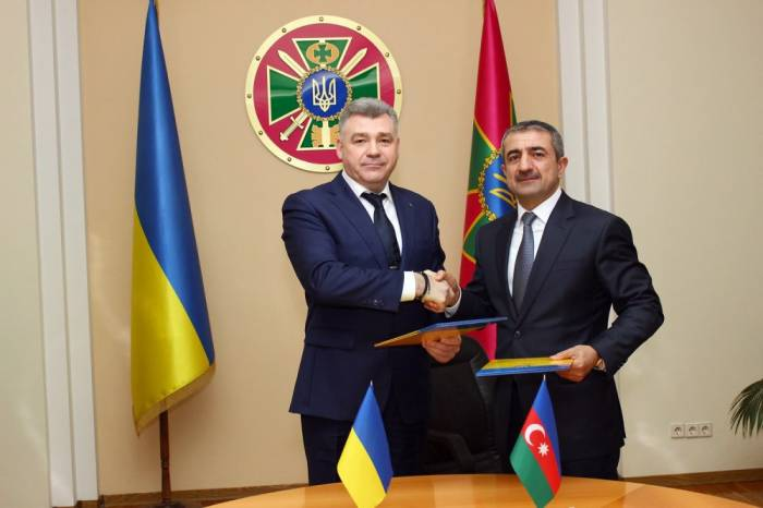 Azerbaijan, Ukraine: state borders security issues discussed