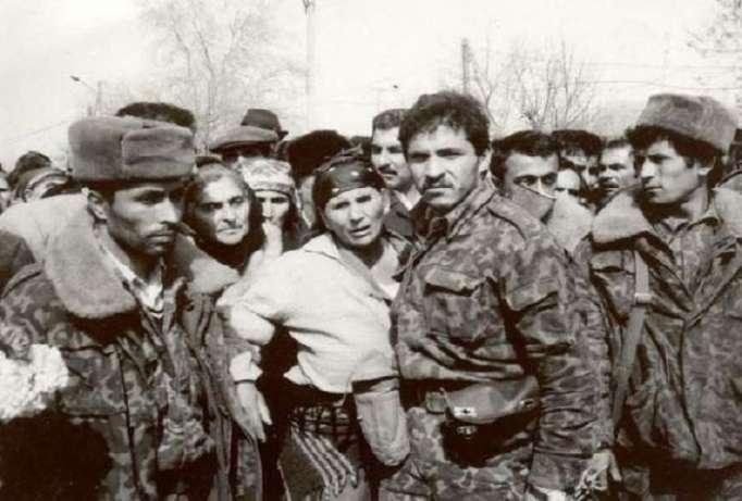 Seit der Dashalti-Operation 26 Jahre vergangen -Liste der gemarterten, vermissten Soldaten und Offiziere