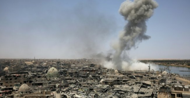 Eight dead as US strike hits Iraq forces