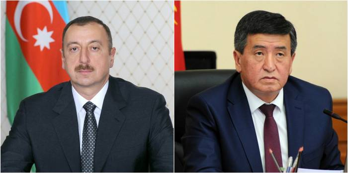 """We are keen on cooperation with Azerbaijan""-Kyrgyz president"