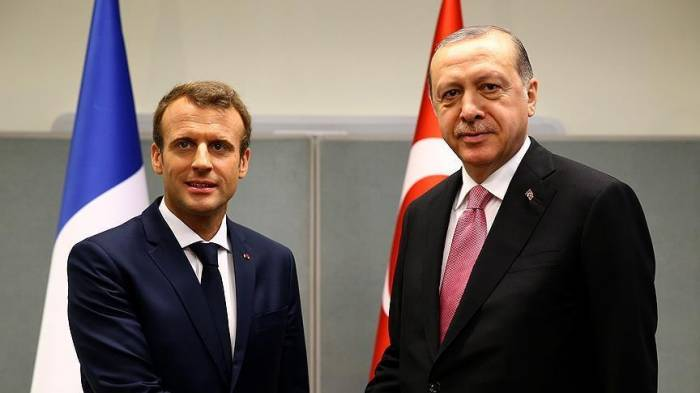 Turkish, French presidents discuss Syria over phone