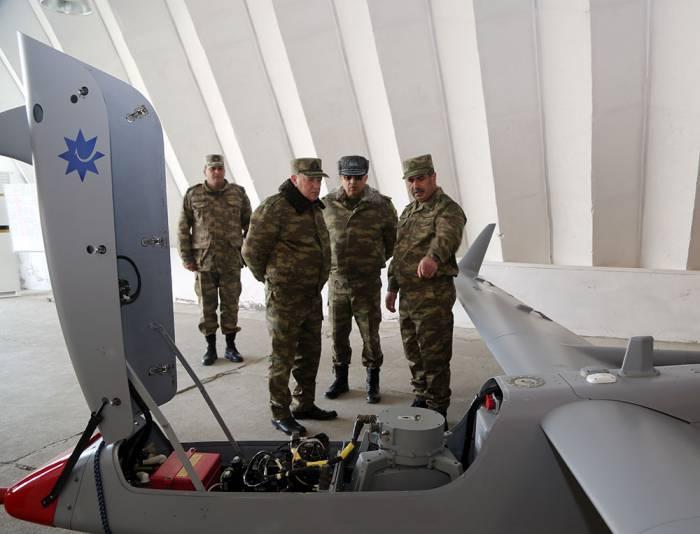 Fuad Alasgarov and Zakir Hasanov visit frontline zone - PHOTOS
