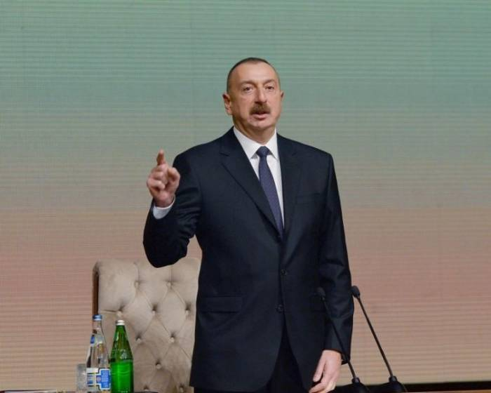 We are pursuing independent policy - Ilham Aliyev