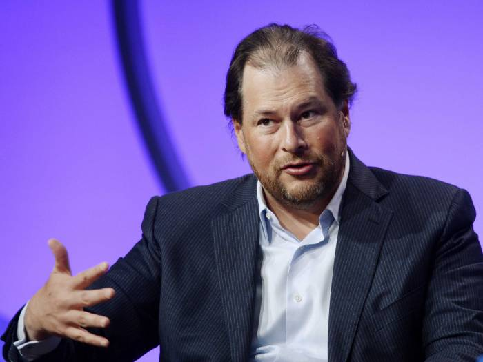Facebook should be regulated like cigarettes, says Salesforce CEO