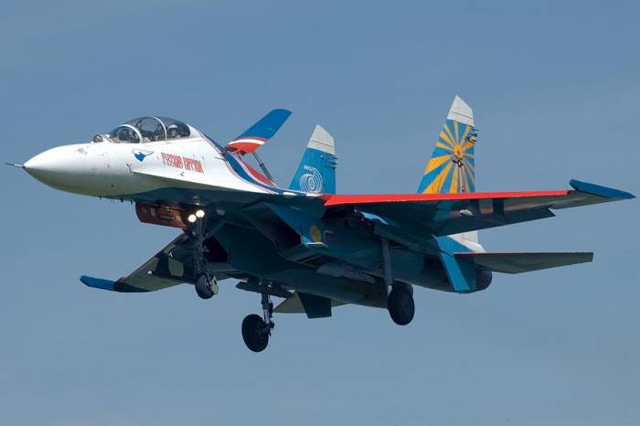 Russia says Su-27 fighter jet intercepted U.S. spy plane; U.S. protests