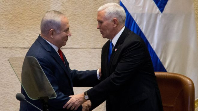 Jerusalem: US embassy to move by end of 2019 - Pence