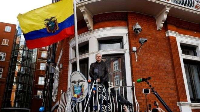 Julian Assange asks UK court to drop his arrest warrant