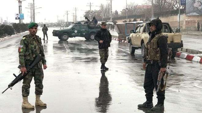 Kabul military academy hit by explosions and gunfire - UPDATED