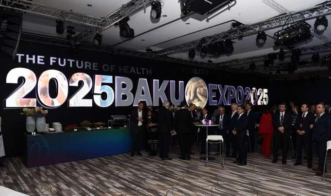 Presentation ceremony of Baku EXPO 2025 held in Davos -PHOTOS