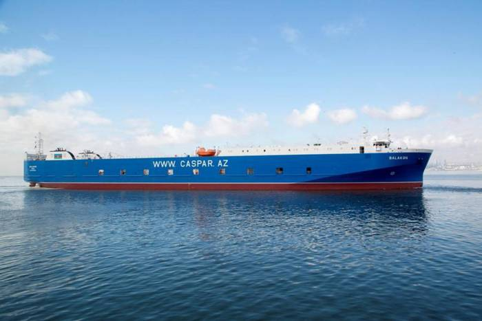 Azerbaijan overhauls vessel to be operated on Trans-Caspian int'l route