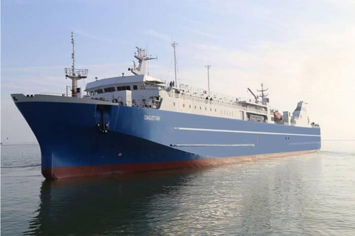 Azerbaijan Caspian Shipping CJSC repairs big ferry