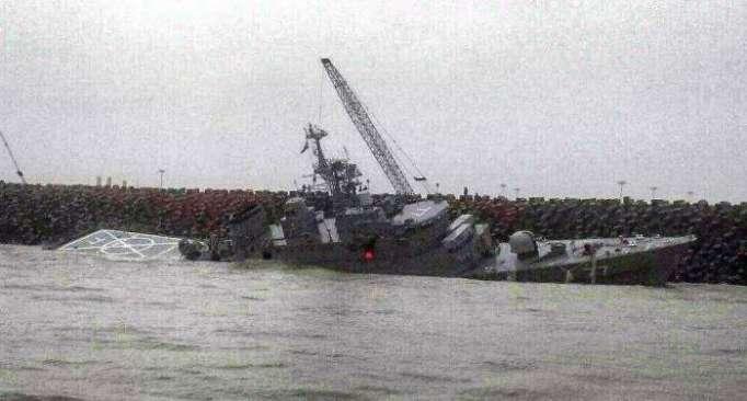 Iranian warship sinks in Caspian Sea