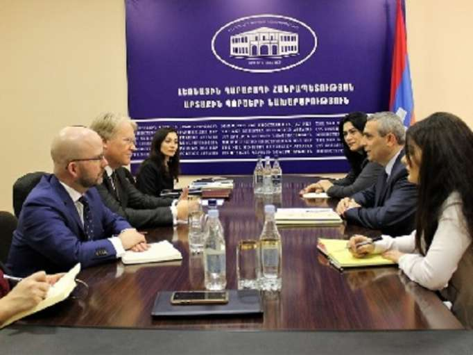 Member of the European Parliament from Sweden makes illegal visit to occupied Nagorno-Karabakh