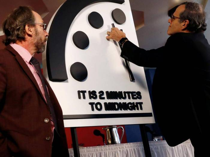 How the Doomsday Clock could help trigger the Armageddon it warns of