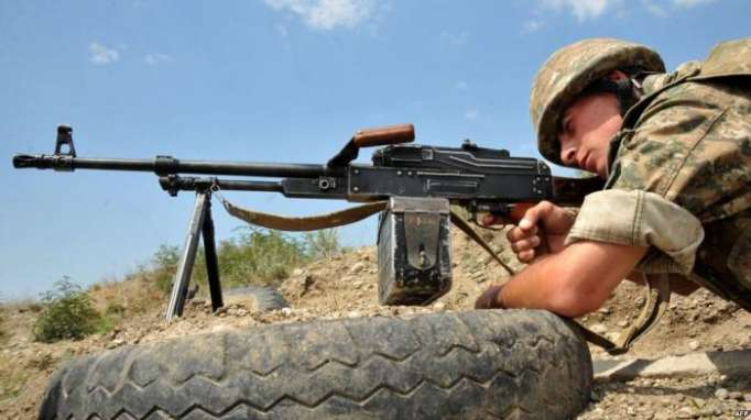 القوات المسلحة الأرمنية تخرق وقف اطلاق النار 120 مرة
