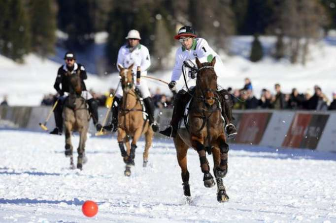 Azerbaijan Land of Fire win La Martina Cup at Snow Polo World Cup St. Moritz 2018