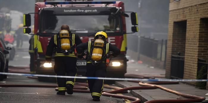الإطفاء: إجلاء المئات بعد تسرب كبير للغاز في لندن