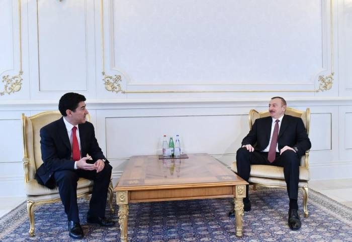 President Aliyev receives credentials of incoming ambassadors