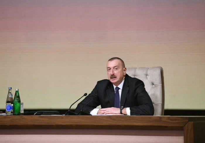 """Realisation of North-South, East-West projects is Azerbaijan's historical merit"""