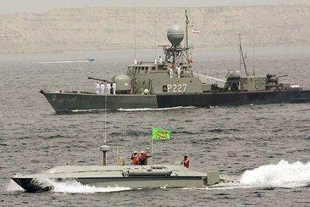 Iranian warship test-fires long-range cruise missile amid drills