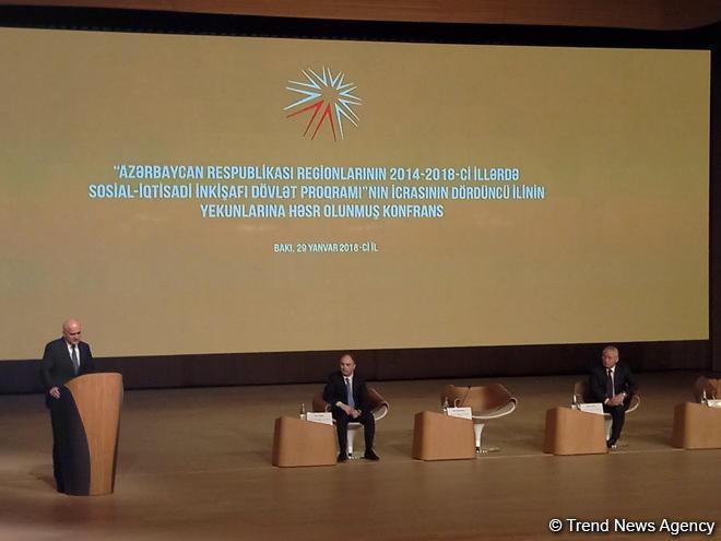 Azerbaijani minister talks investments for districts' development