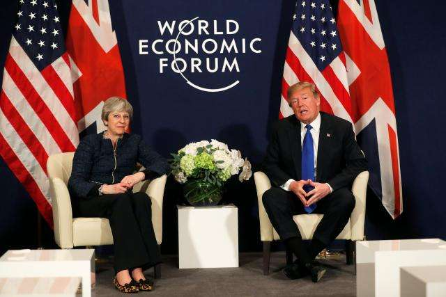 Trump says he would negotiate Brexit with