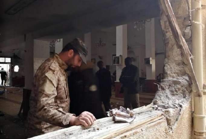 Bombing at mosque in Libya