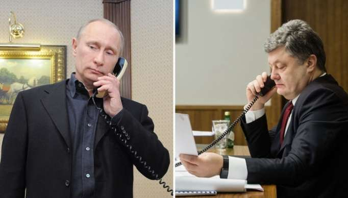Presidents of Russia and Ukraine hold a telephone conversation