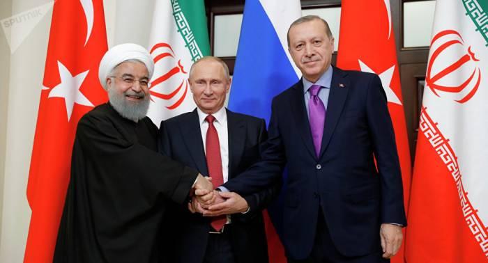 Russie, Turquie et Iran réunis en mars pour évoquer la Syrie