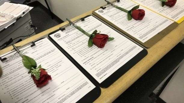 Marriage license kiosk opens up at Vegas airport in time for Valentine
