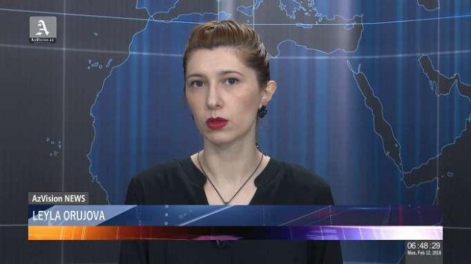 AzVision TV:Die wichtigsten Videonachrichten des Tages auf Englisch (12 Februar)-VIDEO