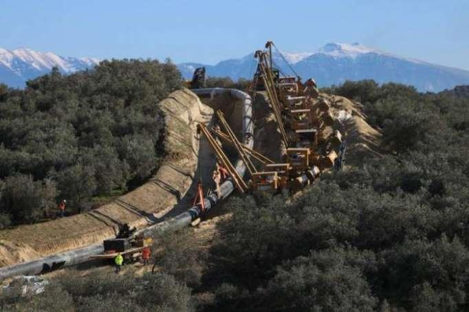 TAP-Projekt: 80 Prozent der TAP-Pipeline in griechischen und albanischen Abschnitten geschweißt