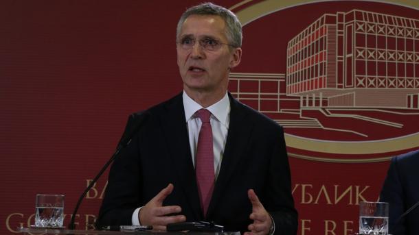 NATO-Generalsekretär zur Operation Olivenzweig