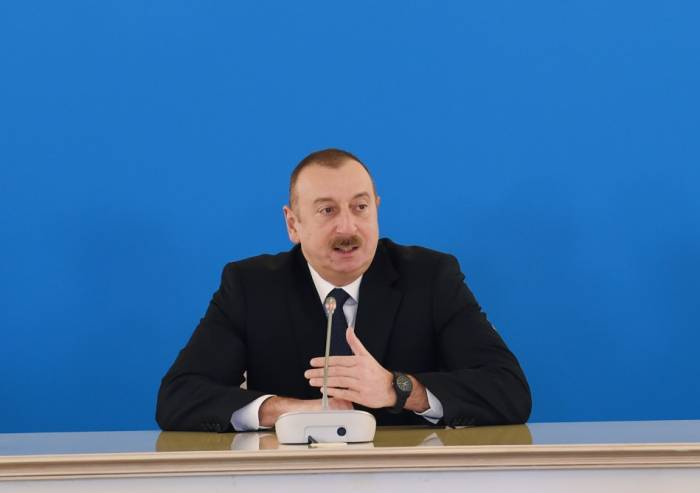SGC is implemented as a result of loyalty of companies to the work - President Aliyev