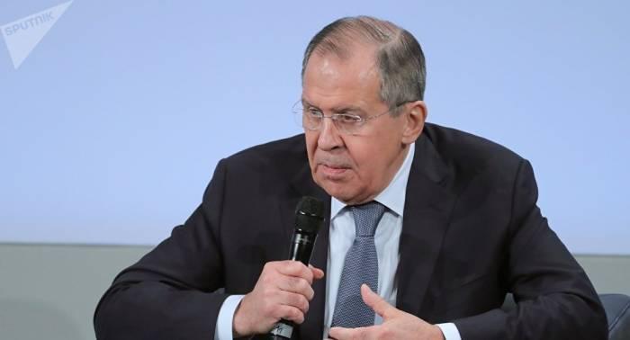 Lavrov vuelve a denunciar a EEUU