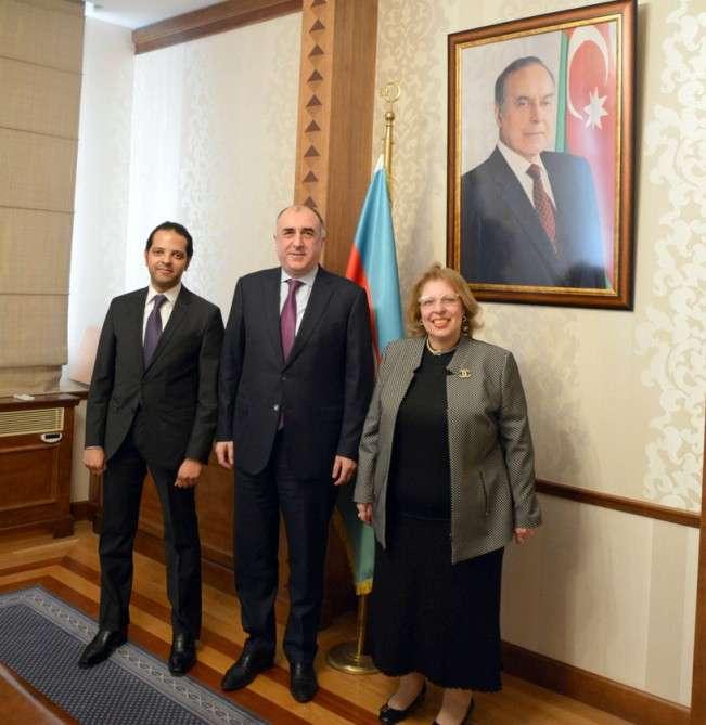 Ägyptische Botschafterin in Aserbaidschan beendet ihre diplomatische Mission