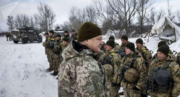 Poroschenko pocht auf Armeeeinsatz im abtrünnigen Donbass – Abkehr von Minsk