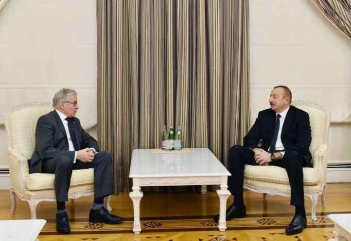 Azerbaijani President receives formerPACEpresident