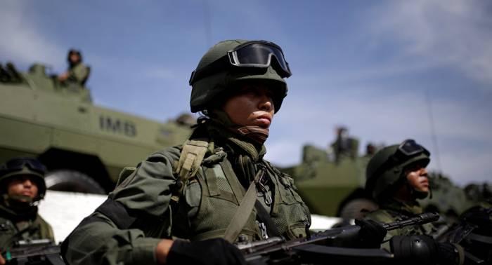 Más de 168.000 uniformados participan en los ejercicios militares venezolanos