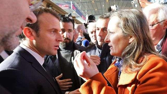 Pitidos a Macron en su primer Salón de la Agricultura como presidente