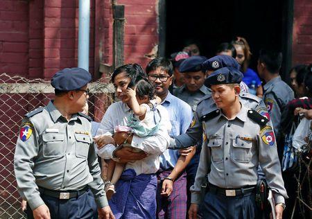 Myanmar policeman who detained Reuters pair