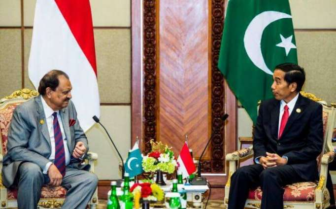Very welcoming gestures from Pakistan President to Indonesia President
